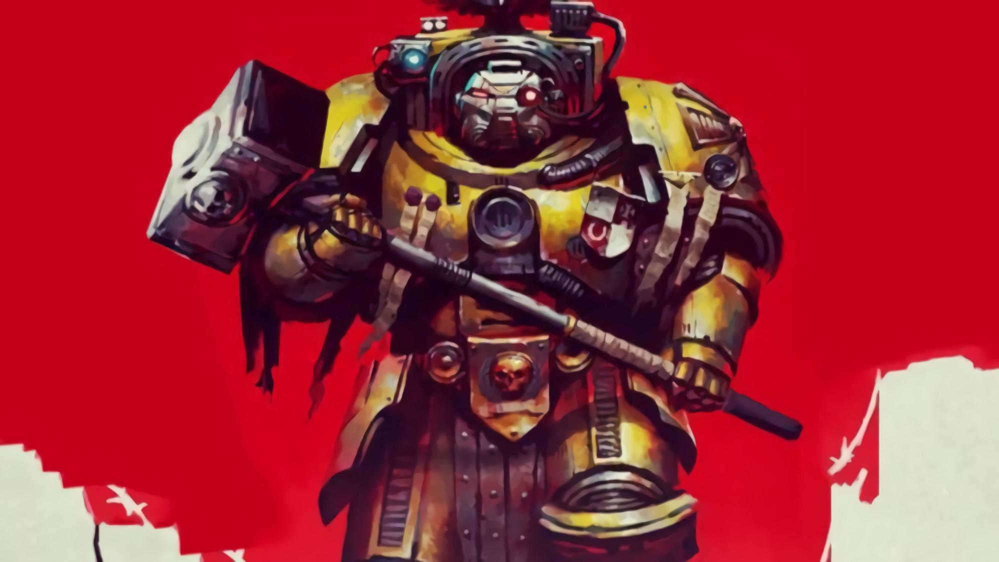 【达奇】纵使此战有死无生  我毅战至最后一刻  因我便是帝国的铁壁《战锤40K》故事