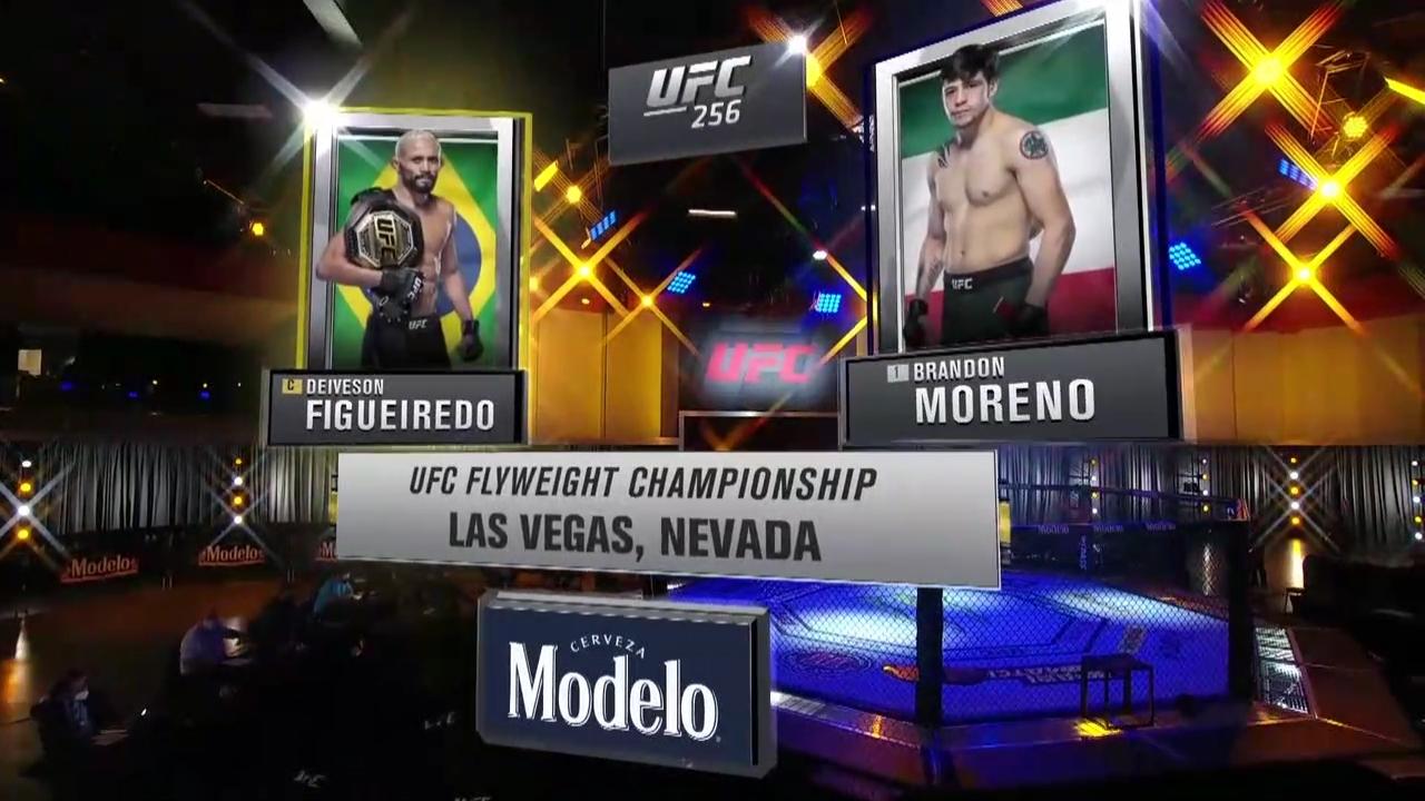 UFC256 主赛全场英文版解说!
