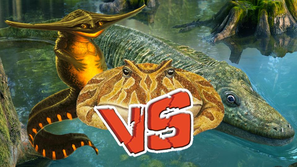 【动物之最10】恐龙之前它们才是霸主?盘点十大远古两栖巨兽!