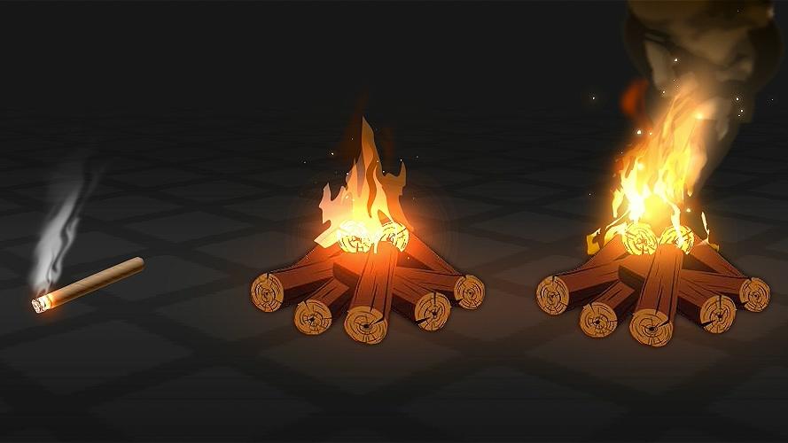 卡通3D火焰 烟特效制作教程,用2D做出3D的视觉效果