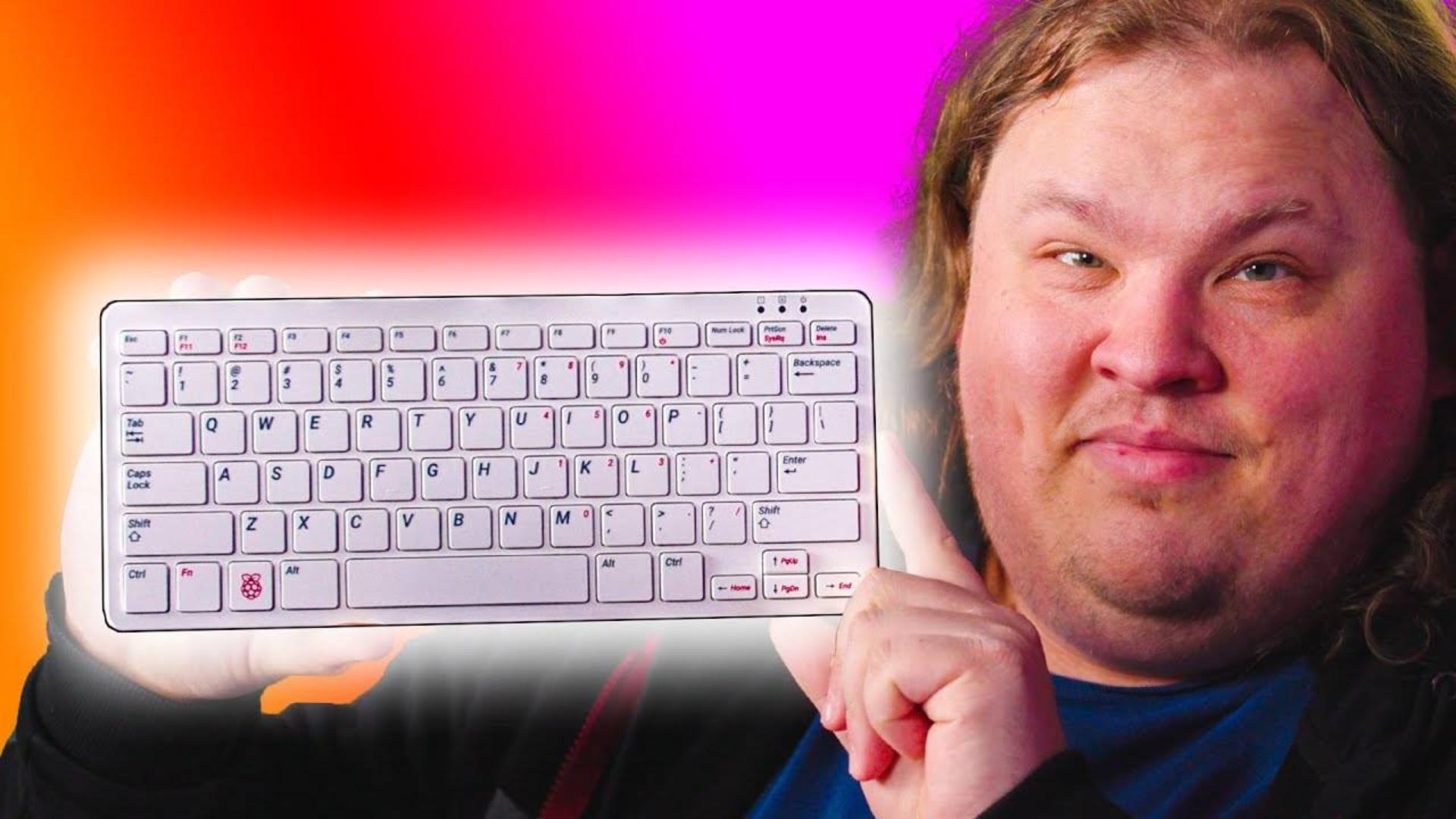 【官方双语】这键盘居然是台电脑 还只要100刀 - 树莓派400开箱 #科技过电