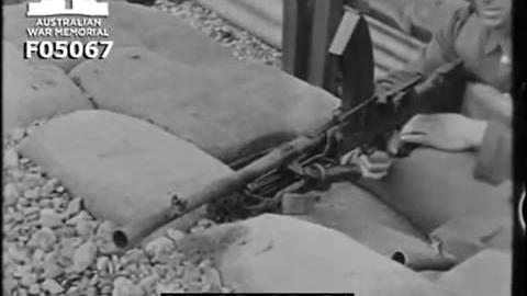 1930年代英军布伦轻机枪使用教学片