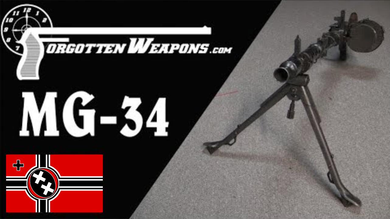 【被遗忘的武器/双语】MG-34 - 通用机枪的本格派