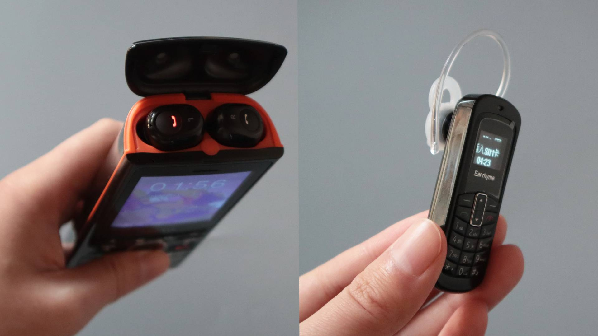 与耳机合为一体的手机!你想不到的脑洞设计