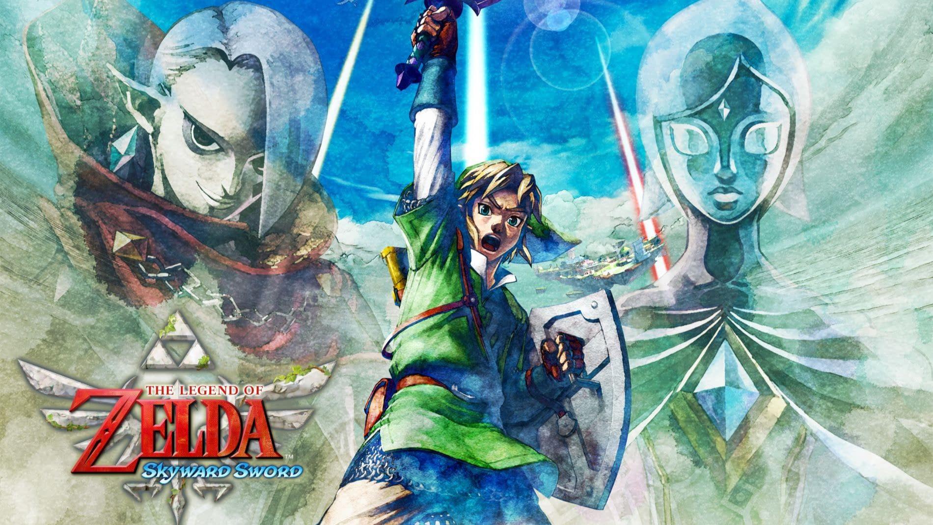 【风信子】《塞尔达传说:天空之剑》下:三角力量篇(全10P)(完结)