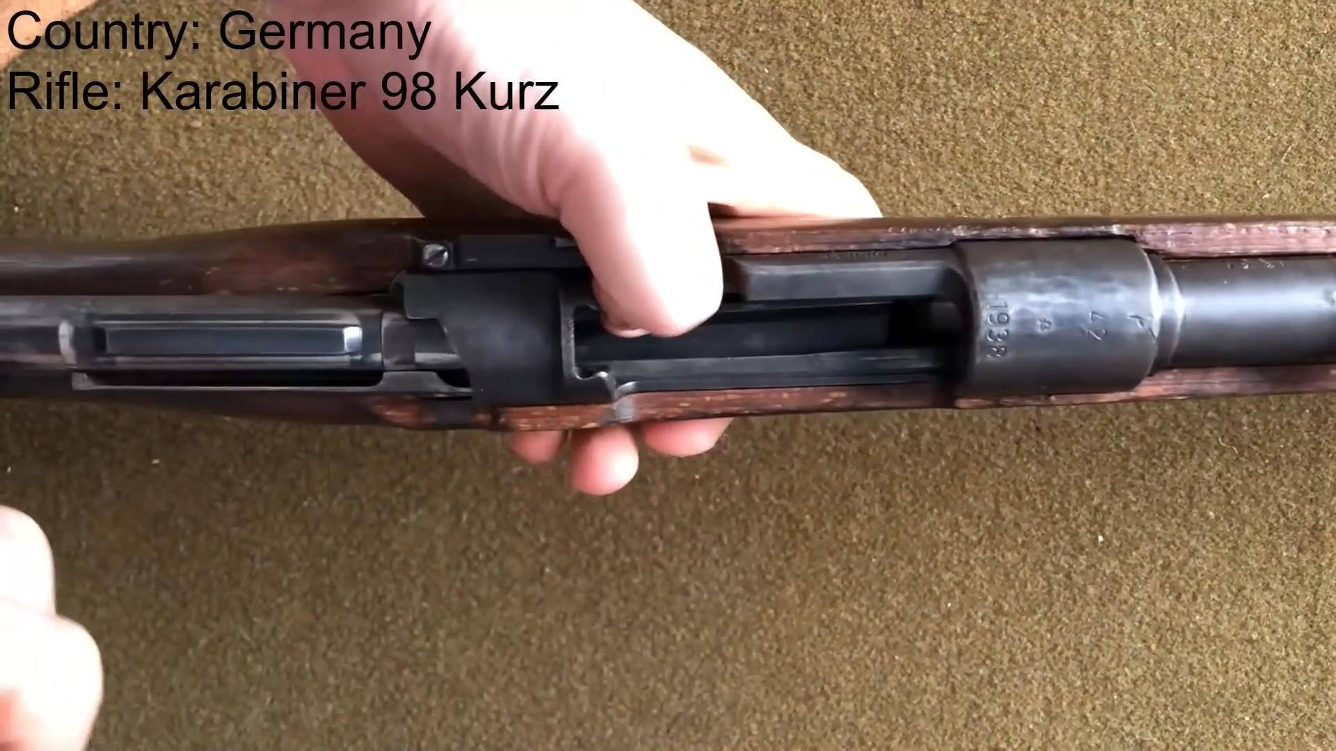 【不用烤】【猛男助眠】军用步枪循环、装弹和装载刺刀(无人声)