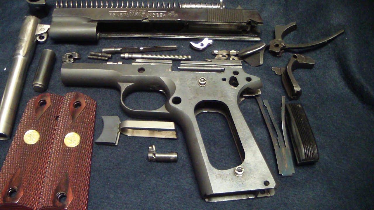 标准型柯尔特M1911完全拆解