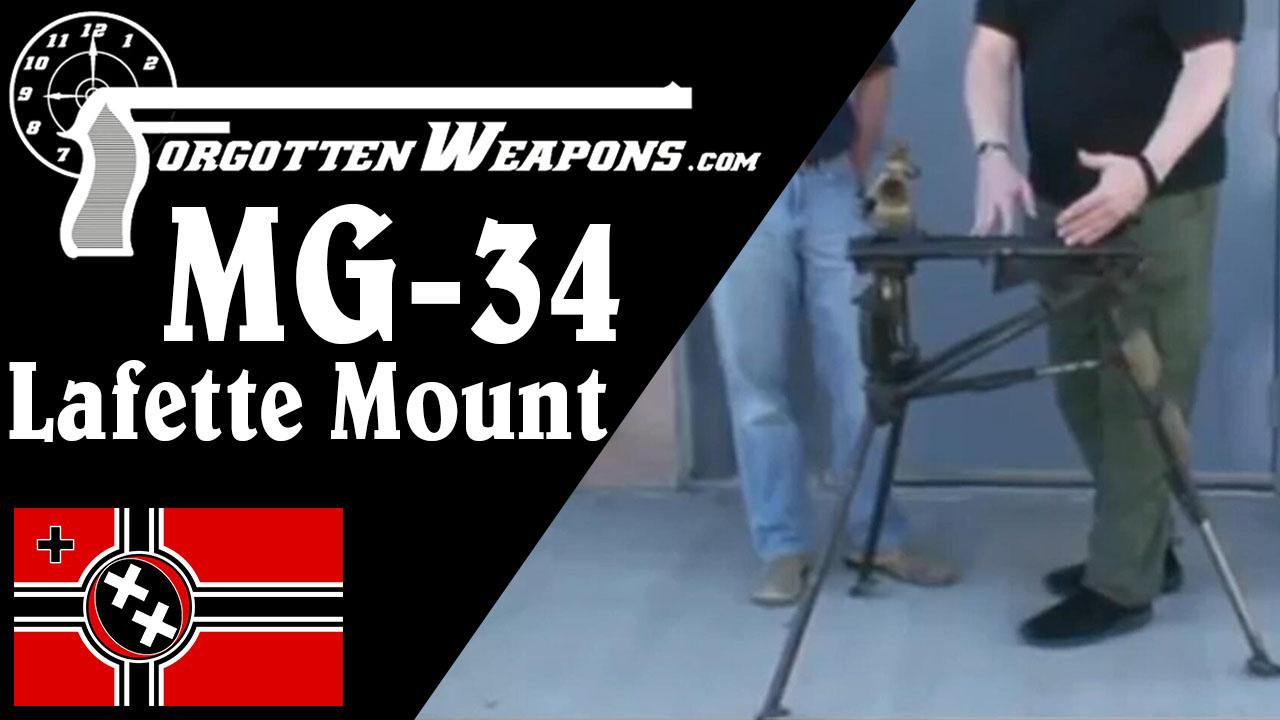 【被遗忘的武器/双语】MG-34的Lafette三脚架