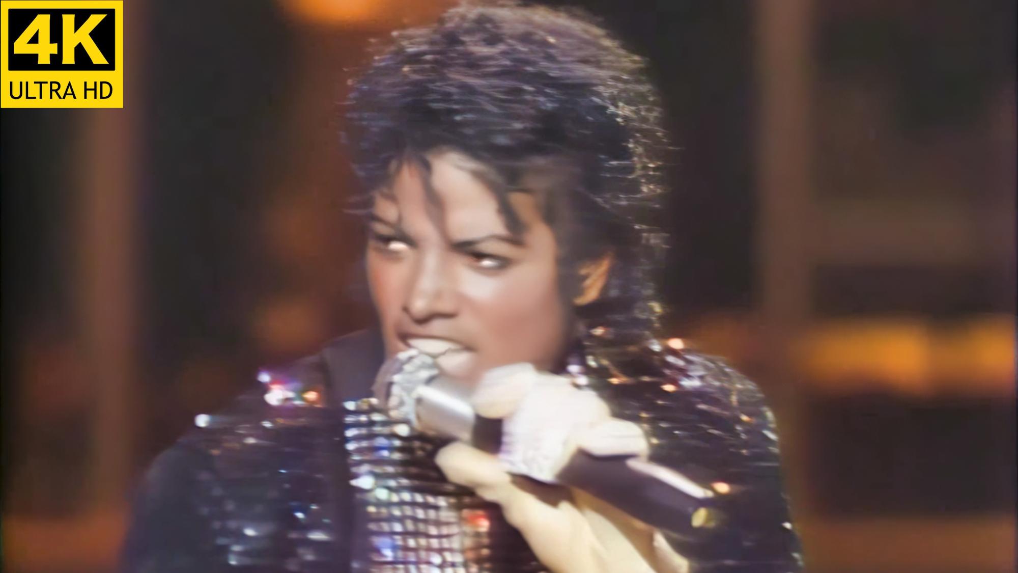 【4k修复60帧】迈克尔杰克逊【The.Jackson.Motown.25.演唱会】【收藏级画质】