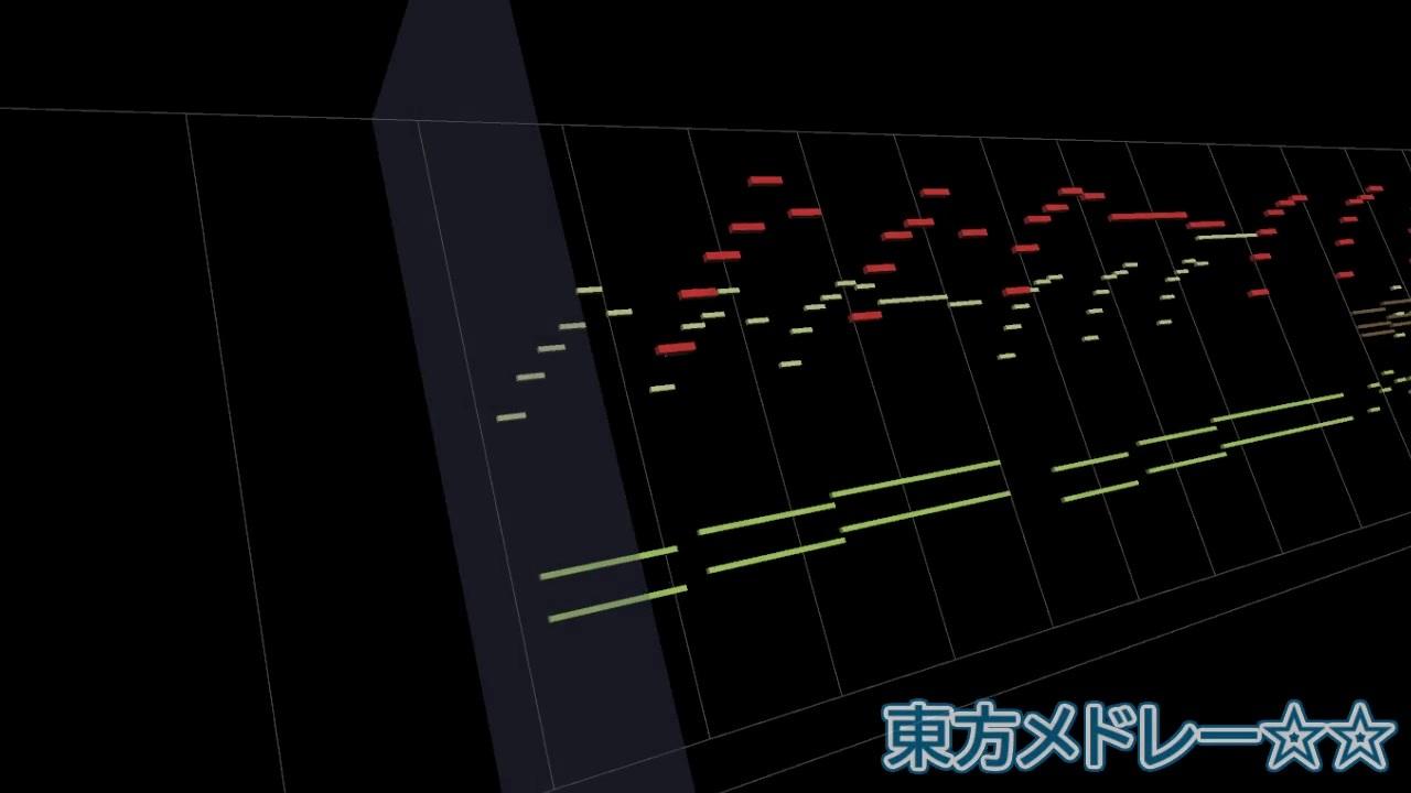 【Rein棒soundfont】东方medley☆☆