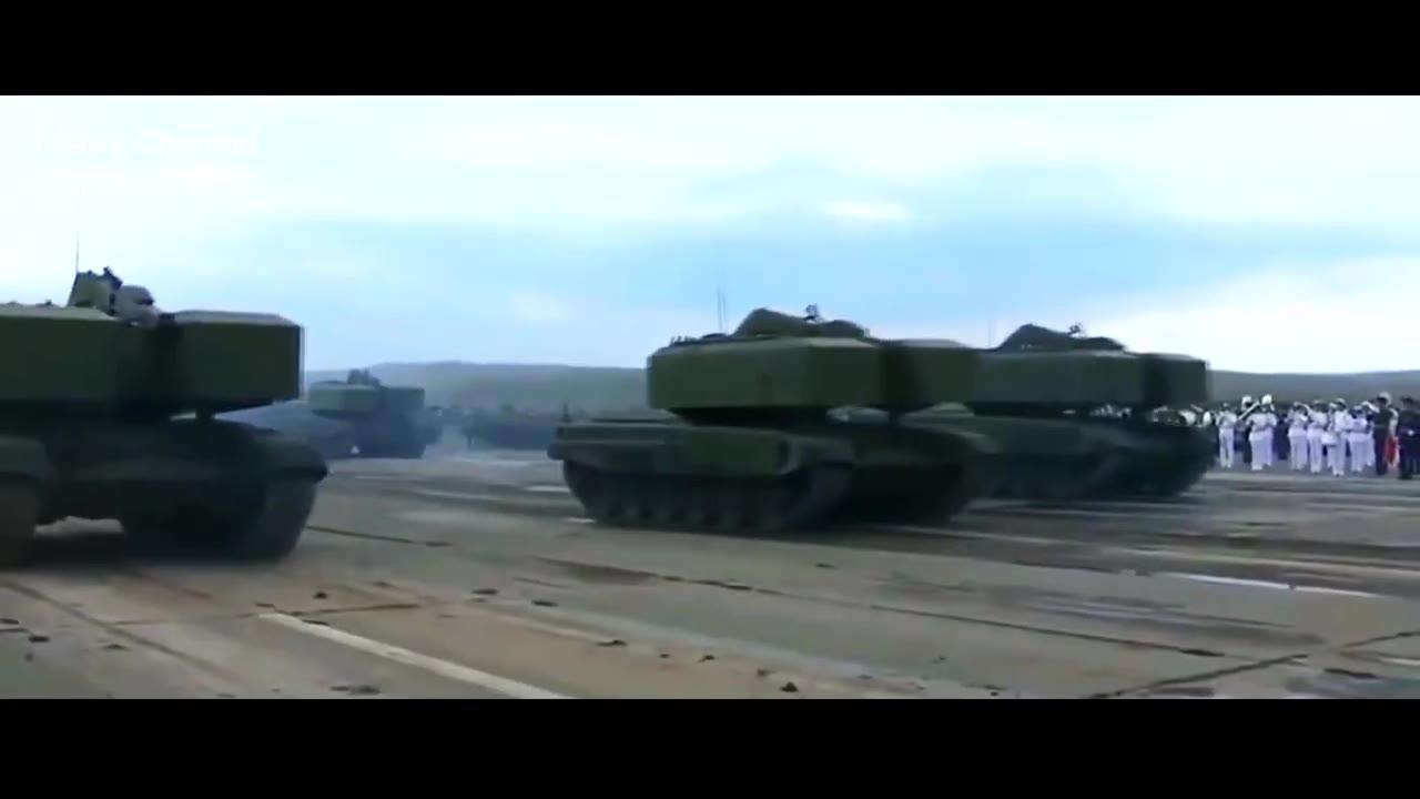 2021年俄罗斯的钢铁洪流