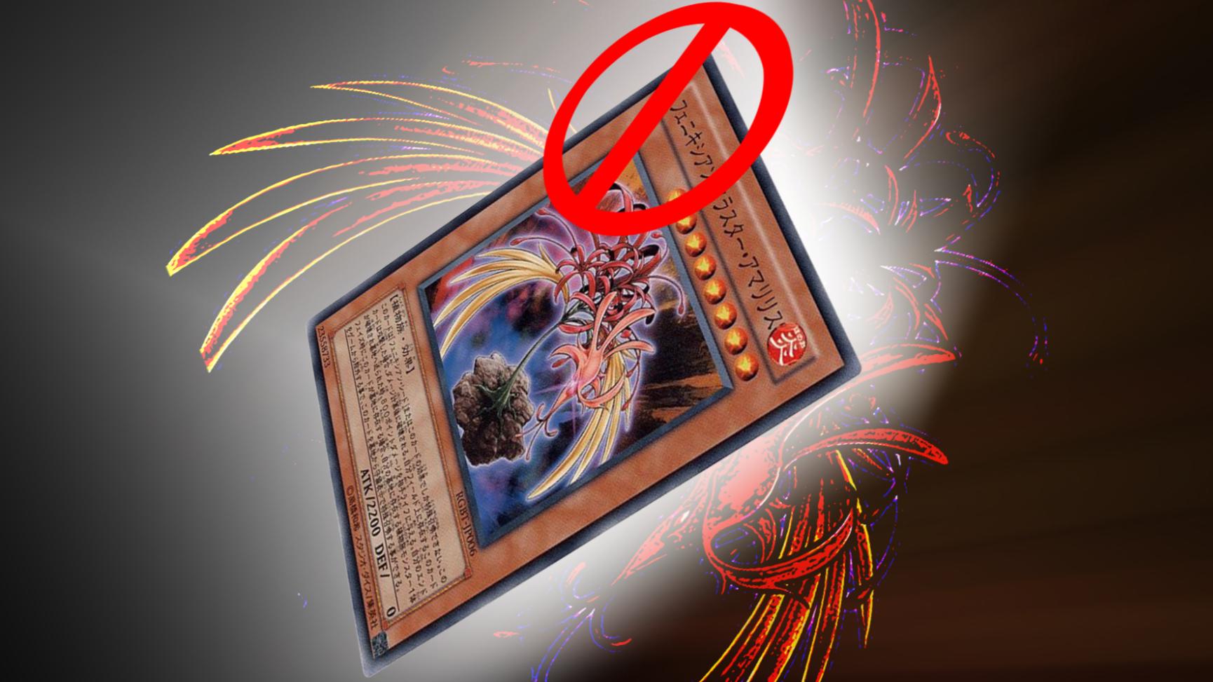 为什么游戏王卡片凤凰石蒜花被禁止使用了呢?