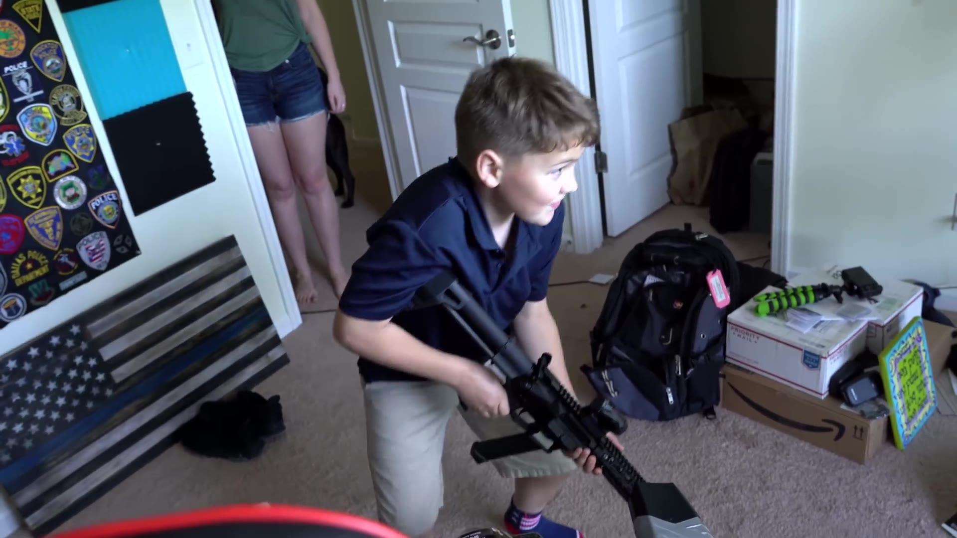 【油管搬运】我10岁儿砸的第一支枪
