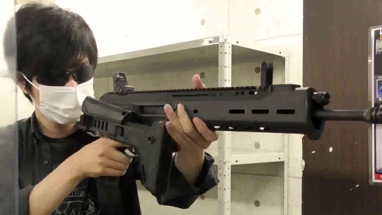 【日本小哥 TK-hero】长气6!KSC的气动马萨达自动步枪GBB玩具(渣翻)
