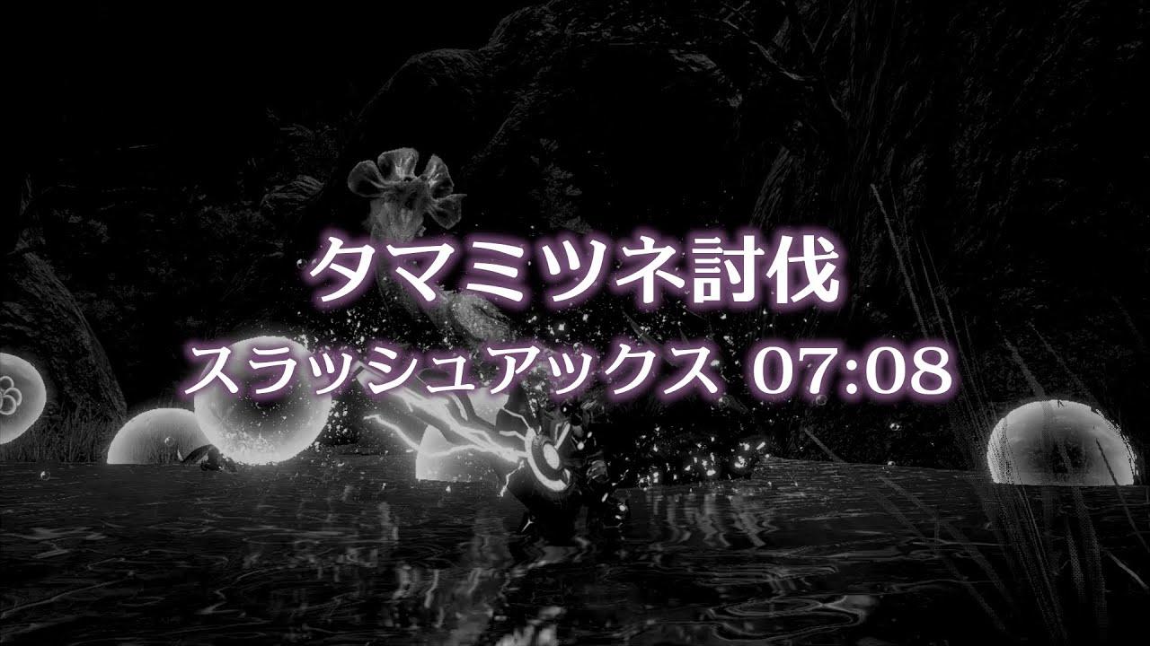 [MHRise]斩斧 泡狐龙7分08秒 [搬运]