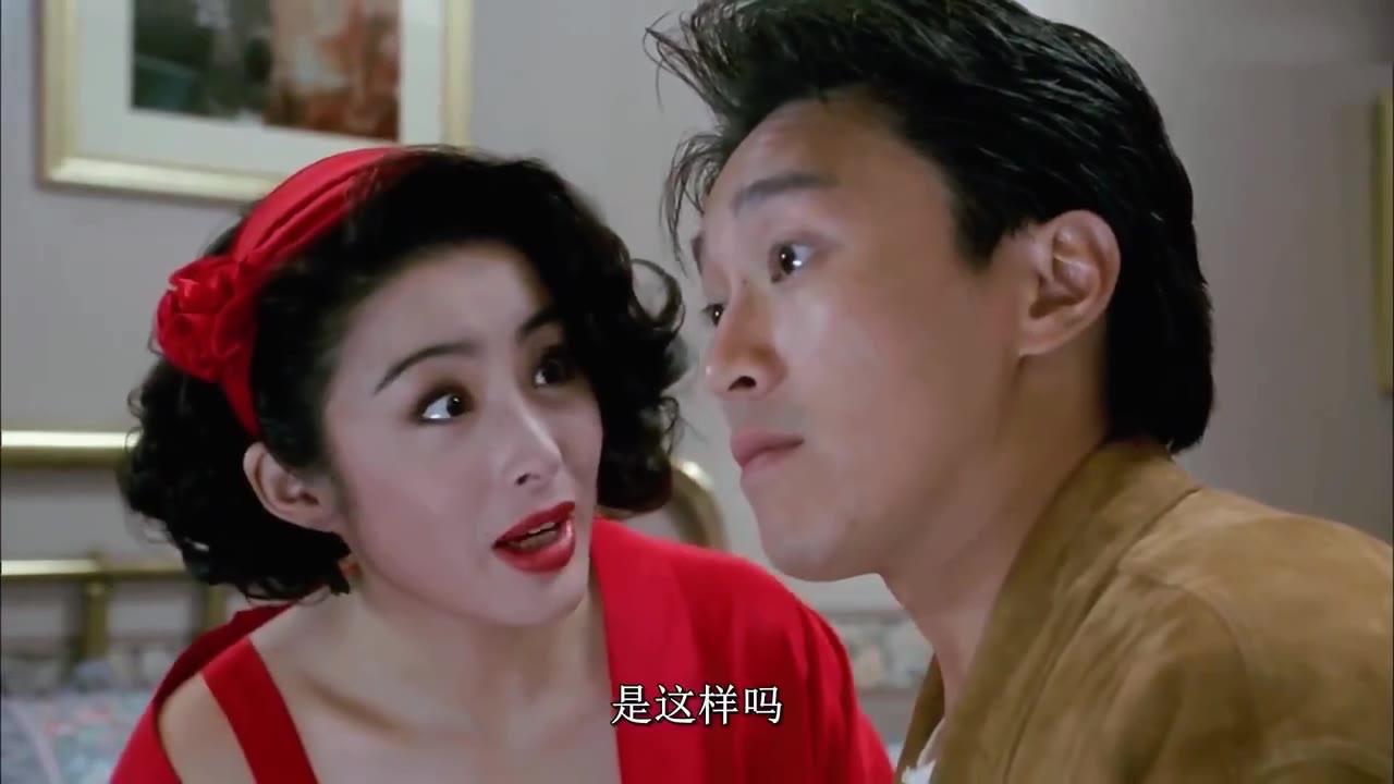 周星驰撩过的女明星:和张敏这段,据说拍完俩人连见面都不好意思了