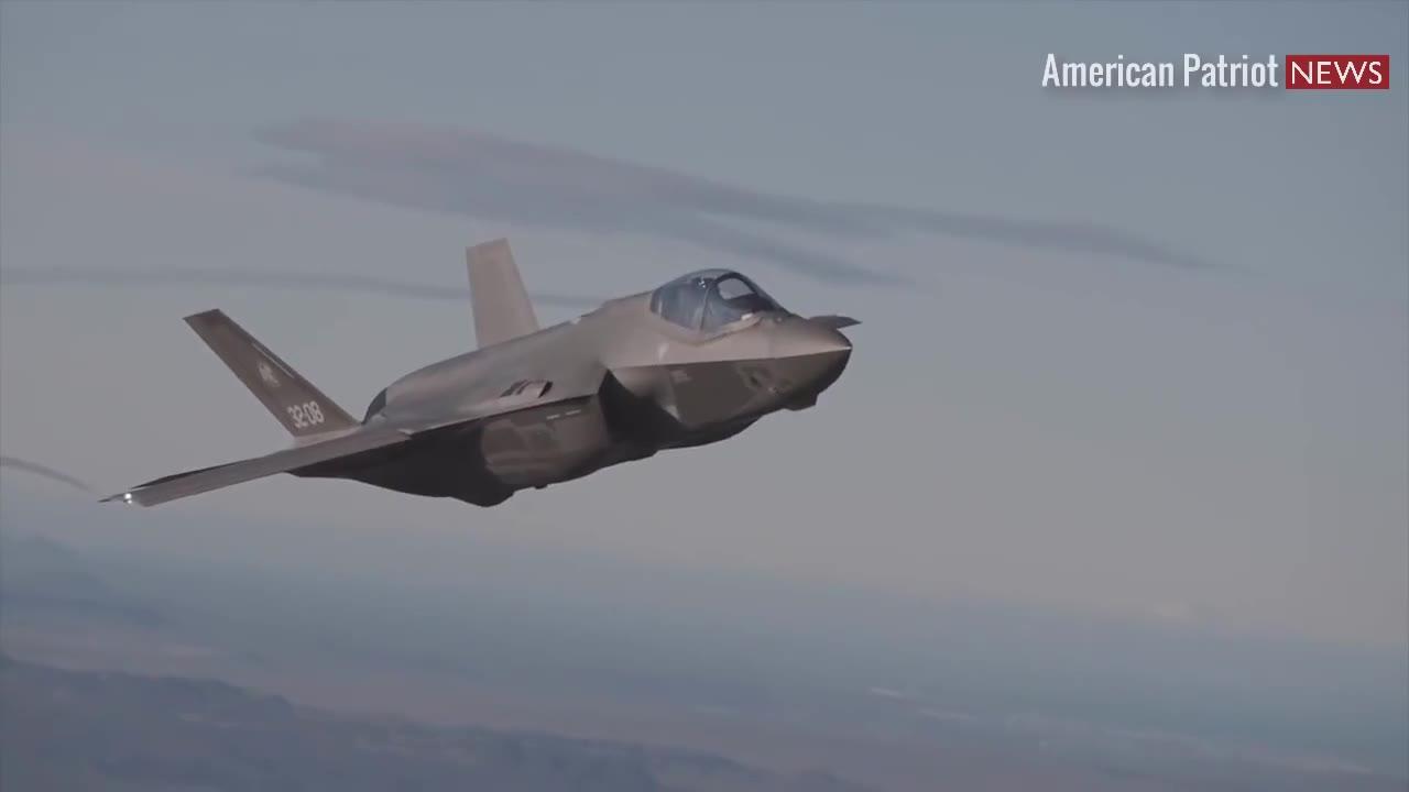 强大的F-35闪电隐身战斗机