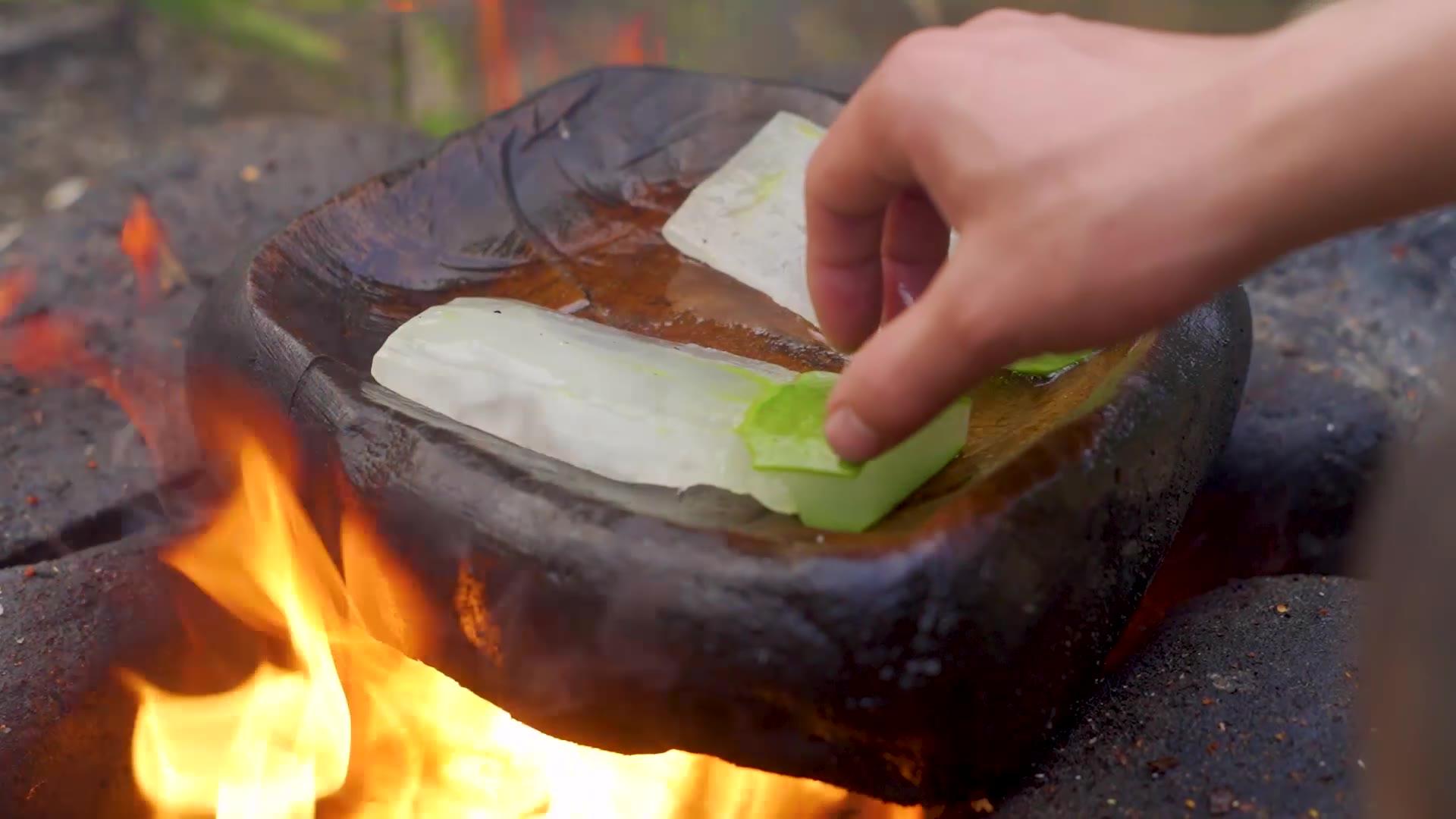 简简单单吃个石板芦荟!