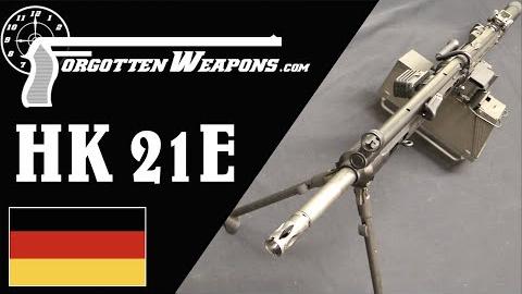 【被遗忘的武器/双语】H&K的模块化机枪 - HK21E