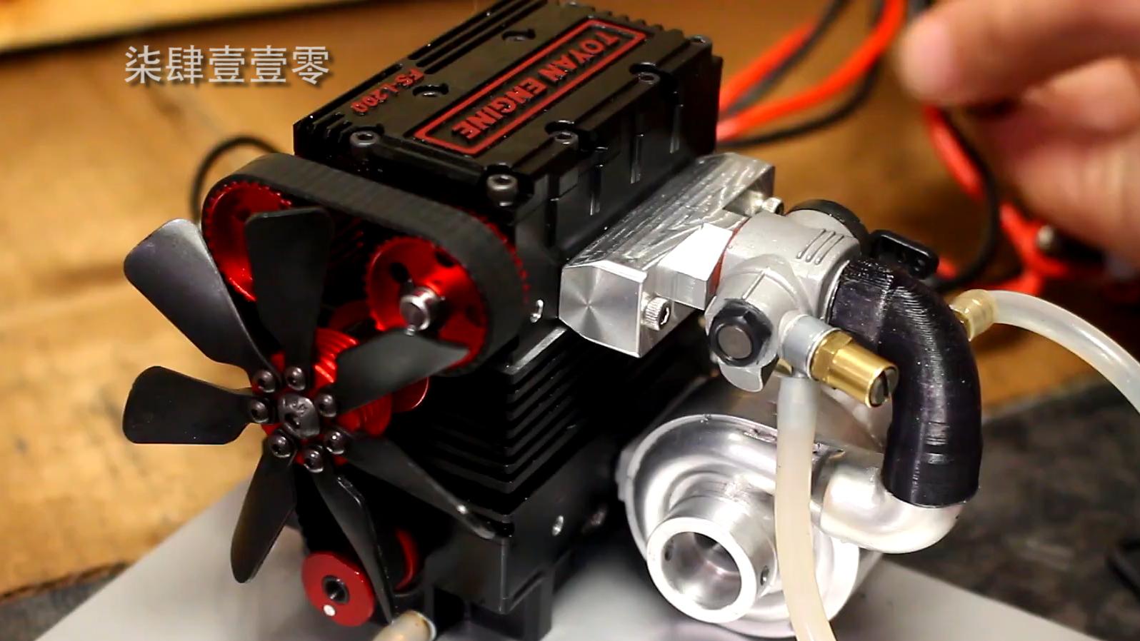 【机械增压】No.3 模型发动机改装正压增压 下篇