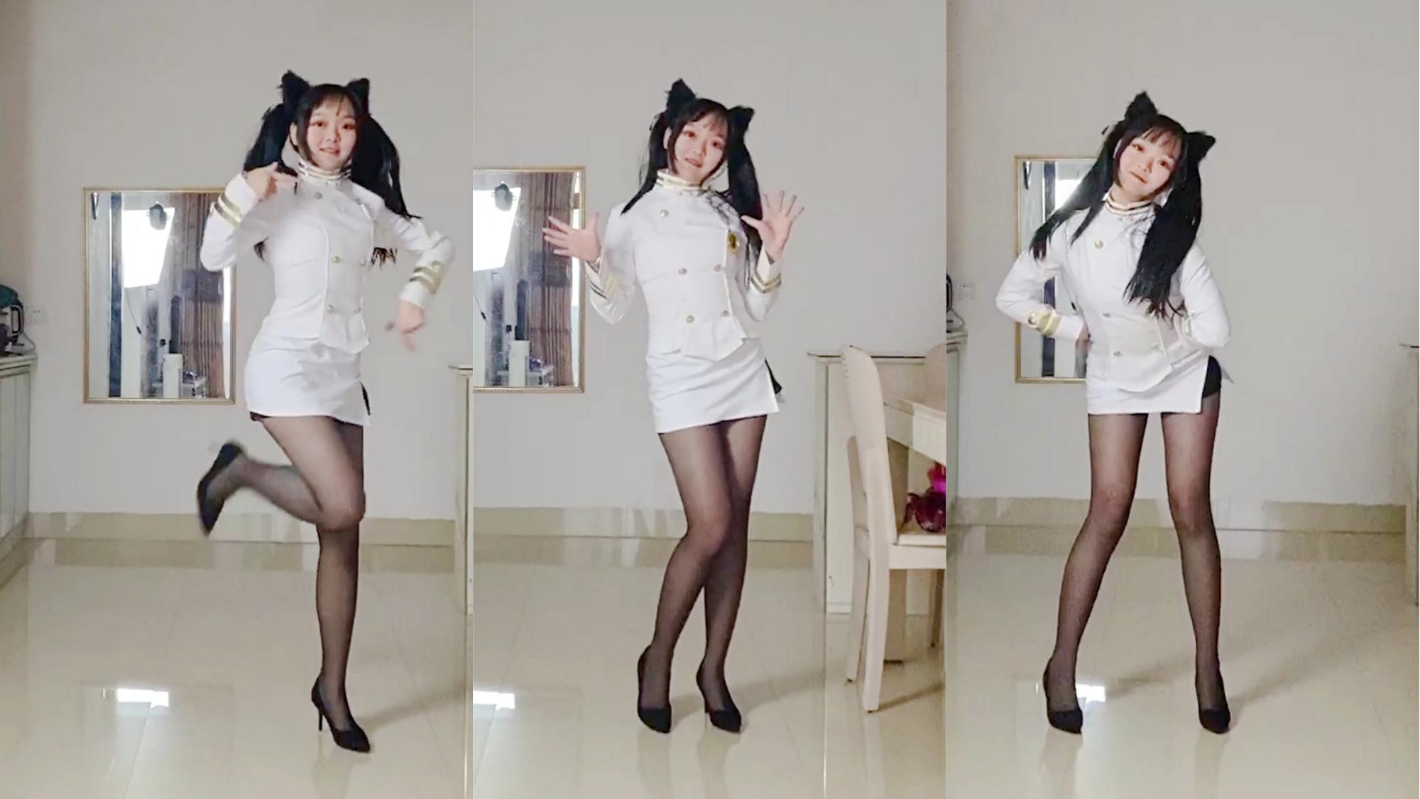 偷穿妈妈的高跟鞋跳舞 少女时代 说出愿望吧 genie 8厘米细高跟初体验【北宫翎】