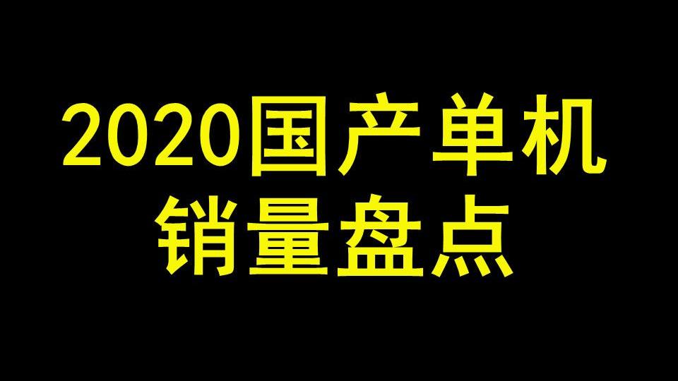【游戏侦查冰】大作折戟,黑马撑门面,2020国产单机销量盘点