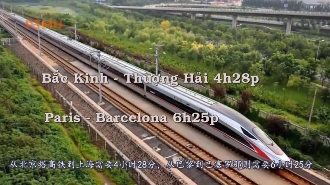 越南博主制作视频分析:中国为什么擅长修建高铁