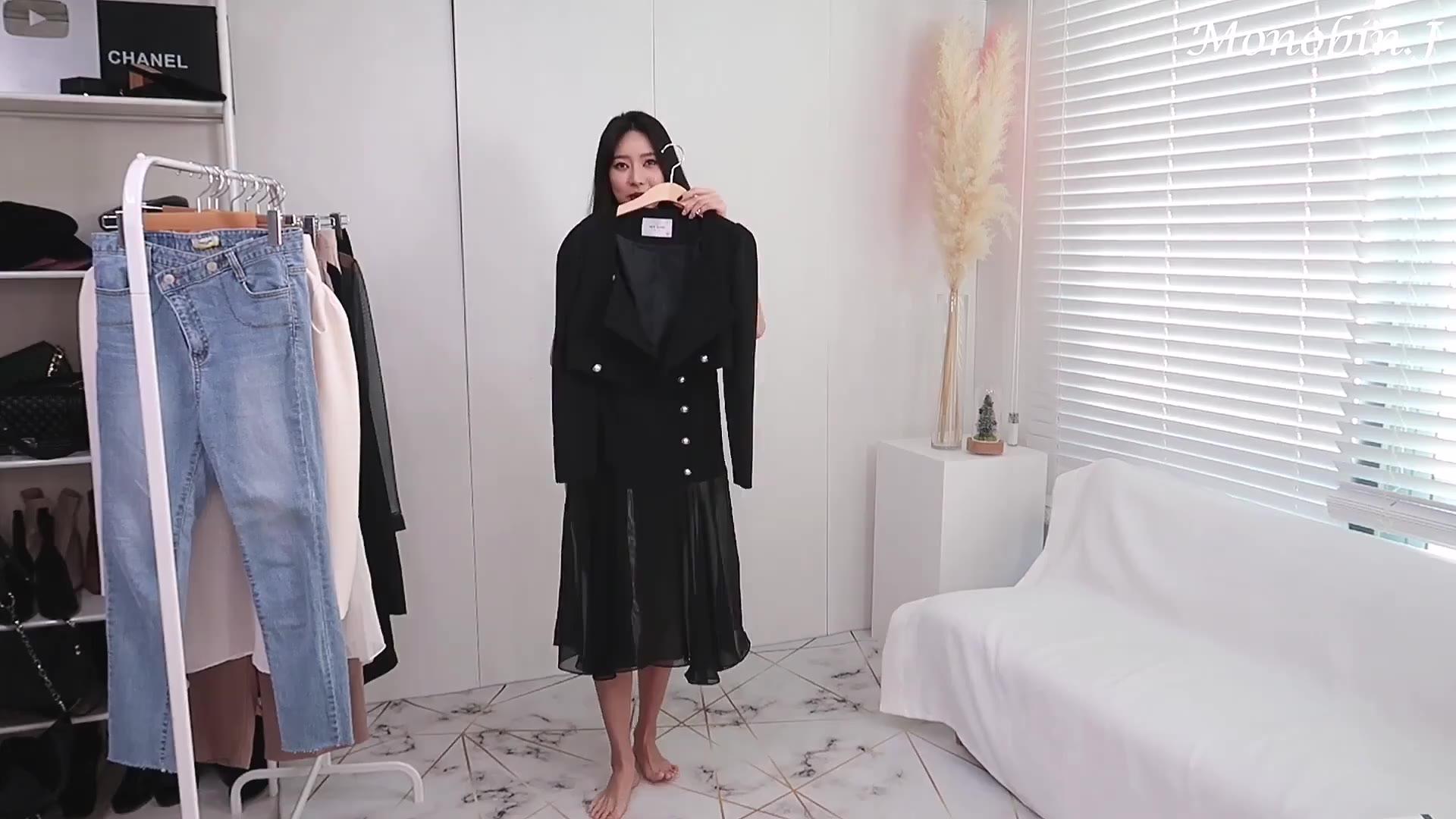 韩国美女服装展示
