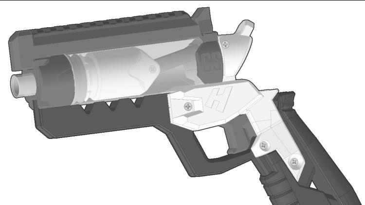 HYPR(鸖组) 组立 NERF热火软弹发射器