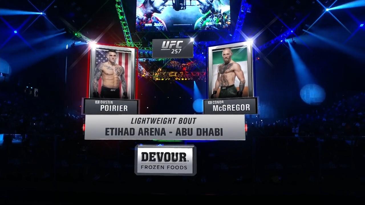 UFC257 数字赛主赛全场英文版解说!