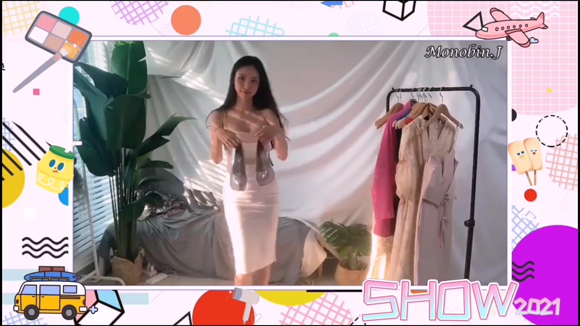 【SHOW】韩国美女换装秀,豪华礼服、宴会礼服、鸡尾酒礼服、时尚、性感