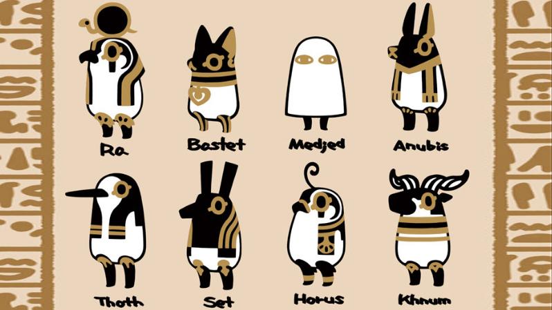 【埃及神话】 九柱神