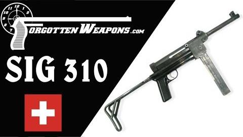 【被遗忘的武器/双语】瑞士节流 - SIG 310/MP48 - 结构与试射
