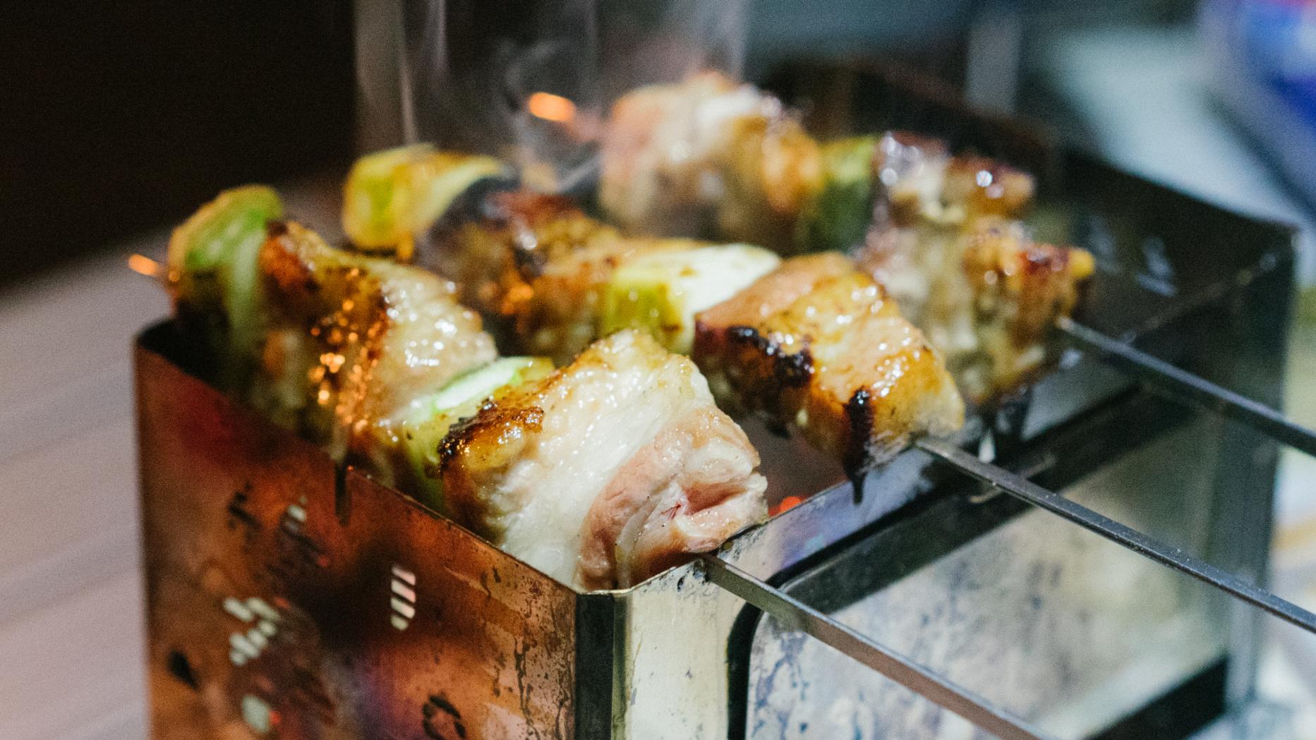 露营饭 | 冬日露营 复刻芝麻凛烤肉串儿