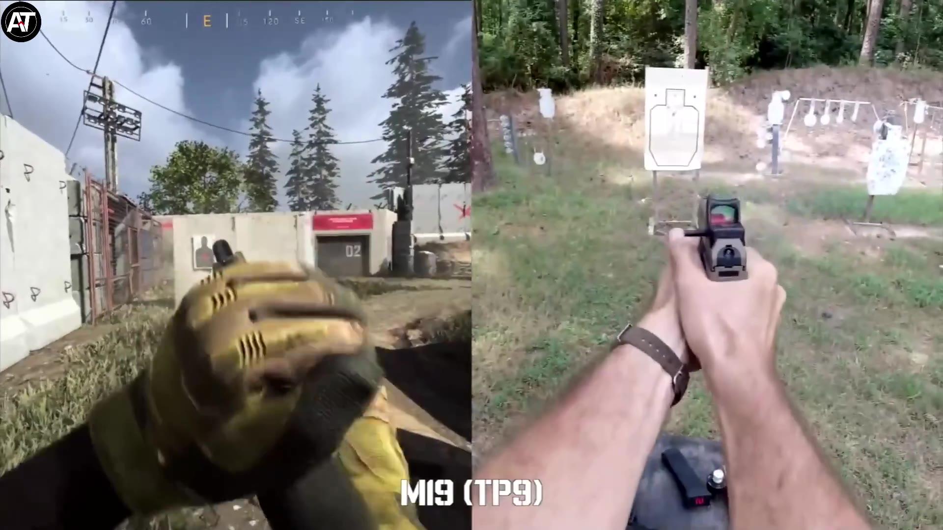 游戏碰撞现实:《使命召唤》VS真人,换弹大对决丨游戏