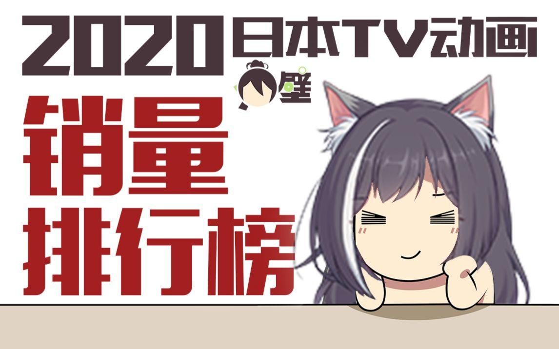2020年日本TV动画销量排行榜