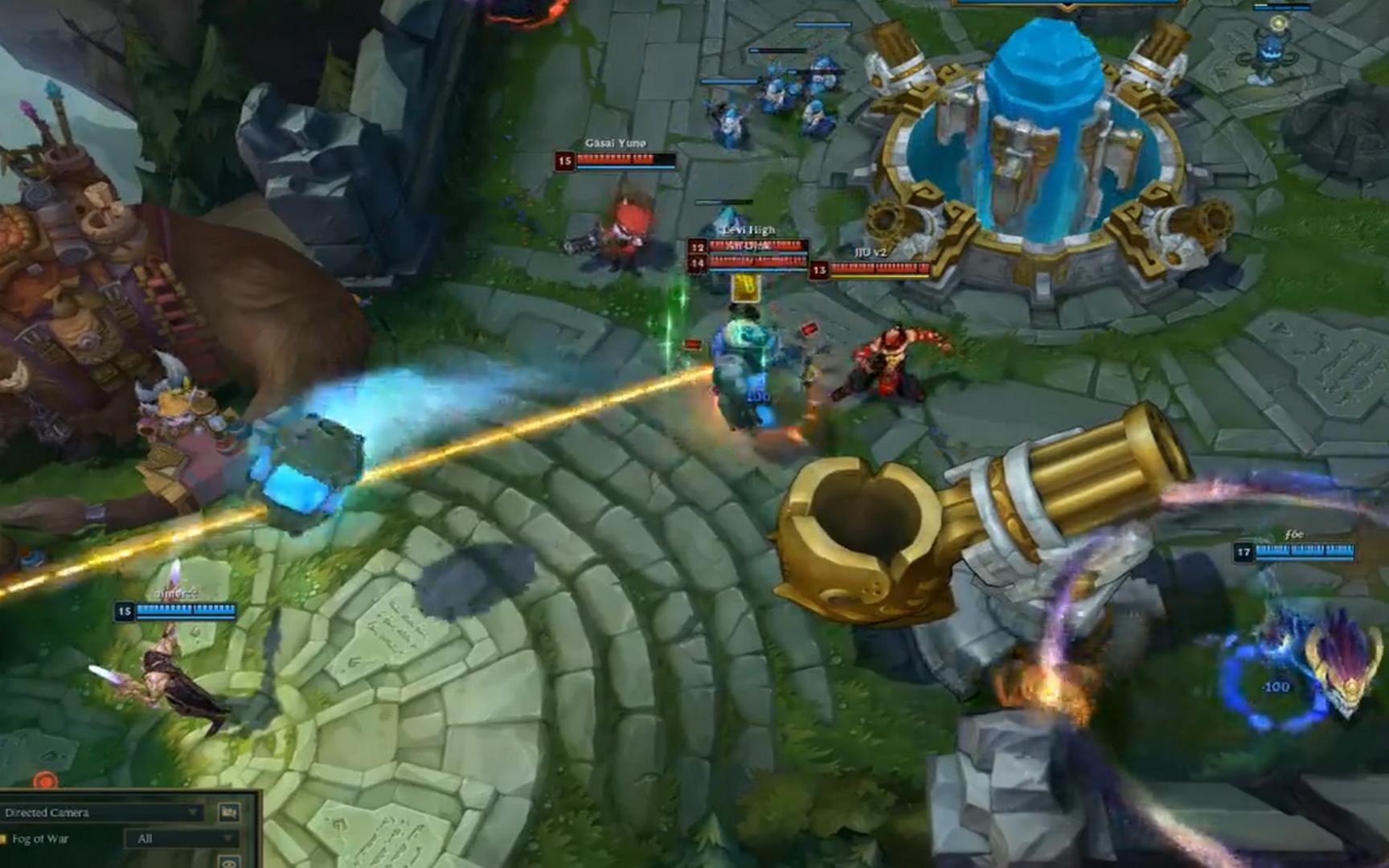 LOL:当无限火力有人掉线,此时游戏的目的就变了