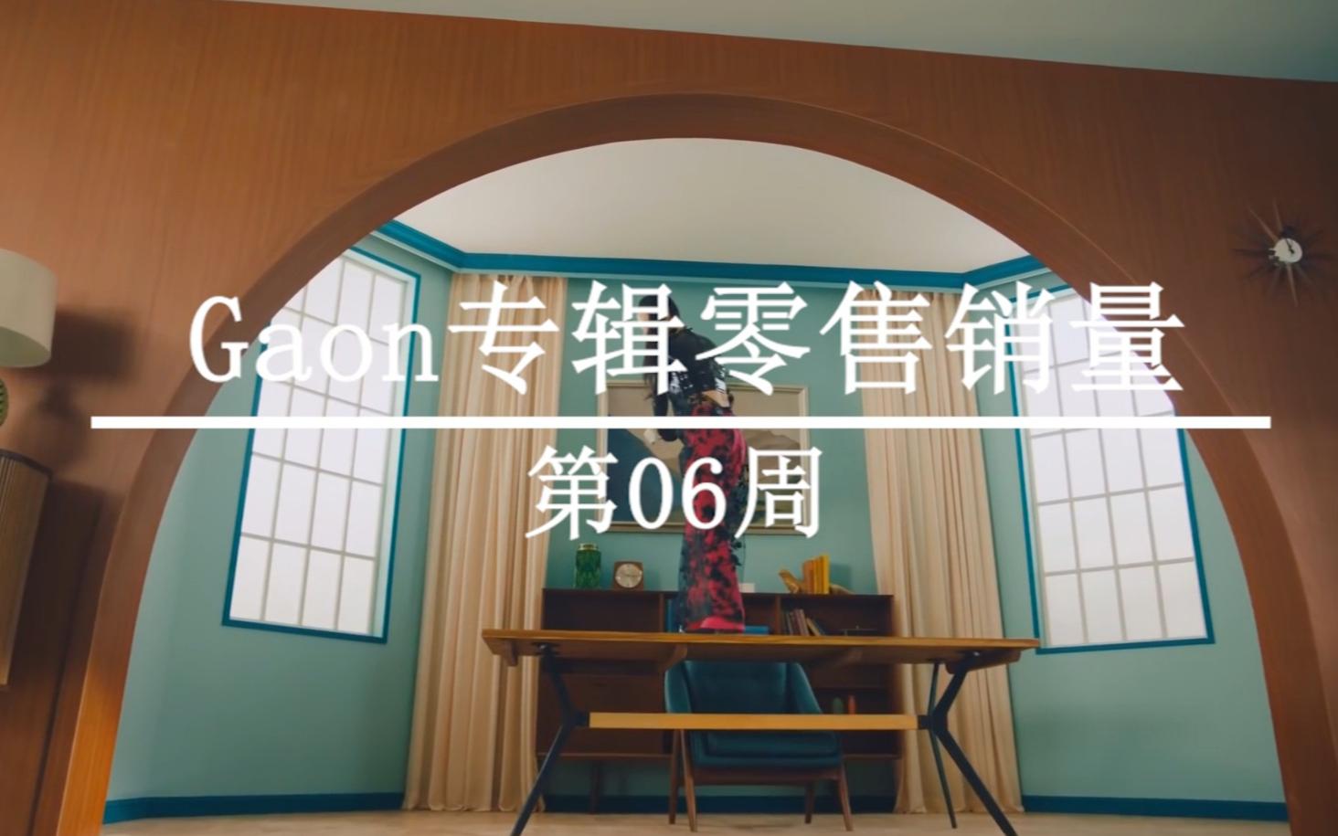 2021年韩国Gaon榜专辑零售销量周榜TOP20(第06周)