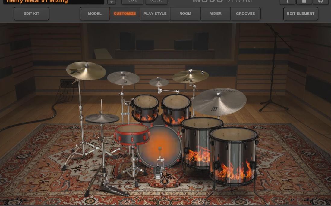 音源教学系列之【IK Multimedia MODO Drums教学】