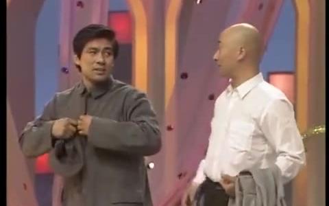 陈佩斯和朱时茂1990年表演的小品《主角与配角》