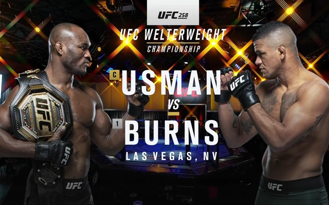 UFC258 主赛全场英文版解说!