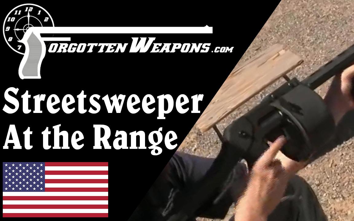 """【被遗忘的武器/双语】靶场上的""""扫街者""""转轮霰弹枪"""