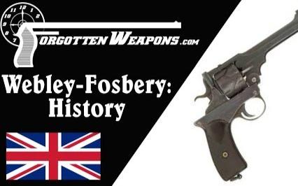 【被遗忘的武器/双语】韦伯利-福斯伯里自动转轮枪 - 历史与结构
