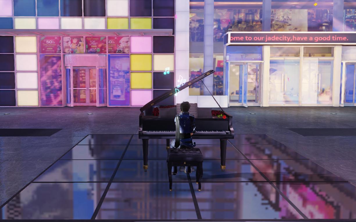 枪神纪城市旧版钢琴曲纯音乐循环