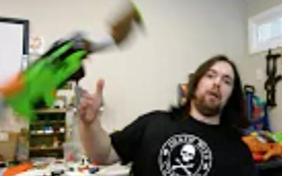 杠杆式Nerf blaster - Zombie Strike Slingfire