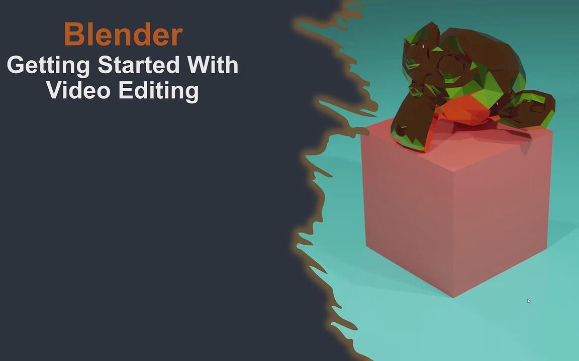 【Blender】Joe Baily《Blender中的视频编辑入门》(中英双字)