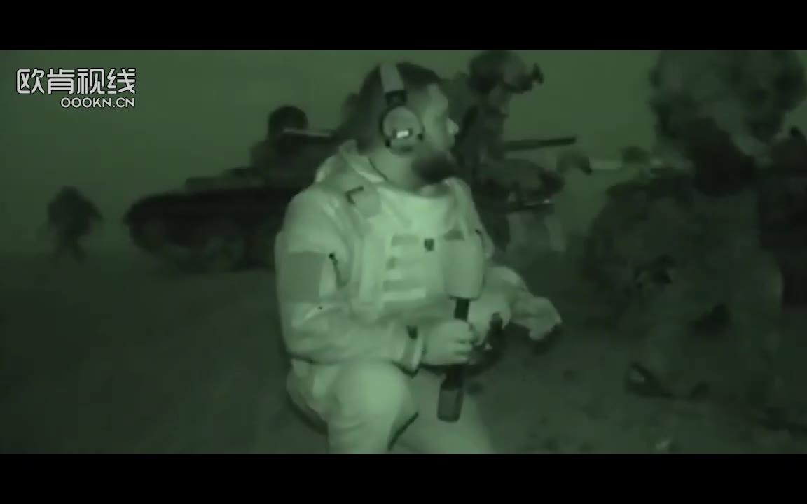 攻坚拔点!俄媒爆其特种部队在叙利亚阿勒颇和帕尔米拉作战影像