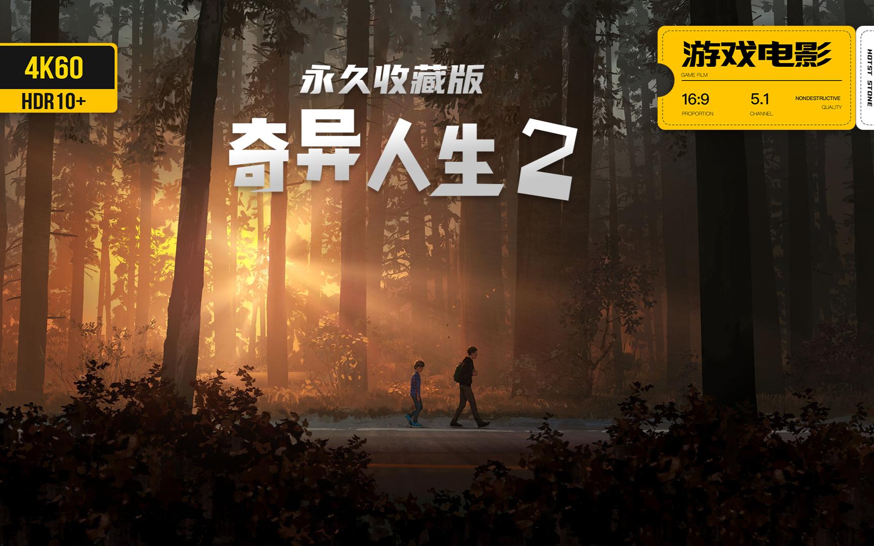 游戏美剧《奇异人生2》完整剧情 永久收藏版 4K60全特效