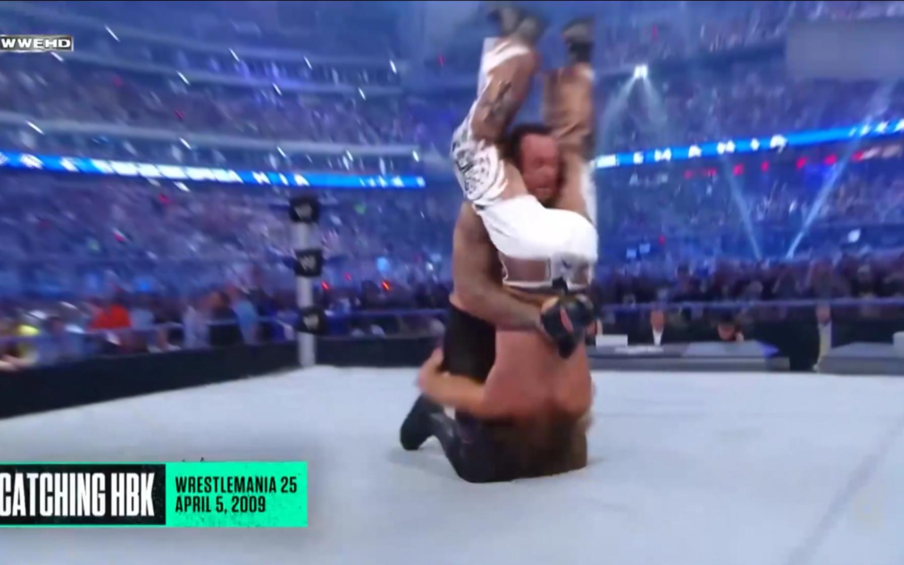 【1080p60】WWE送葬者经典墓碑钉头名场面