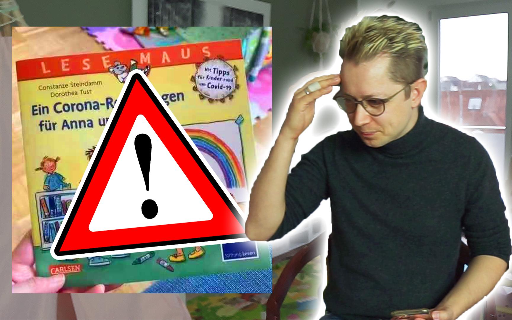 德国儿童书上写:新冠病毒来自中国!这是儿童读物还是毒物?
